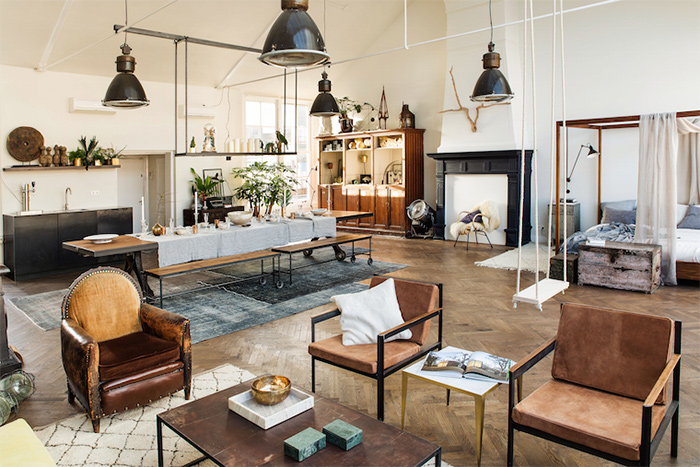 The loft, un concept-store très déco à Amsterdam