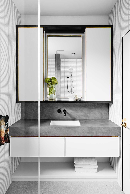 Idée salle de bain élégante style hôtel