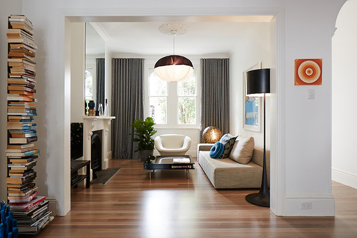 Paddington terrace contemporain mais pas que frenchy fancy - Design interieur contemporain ...
