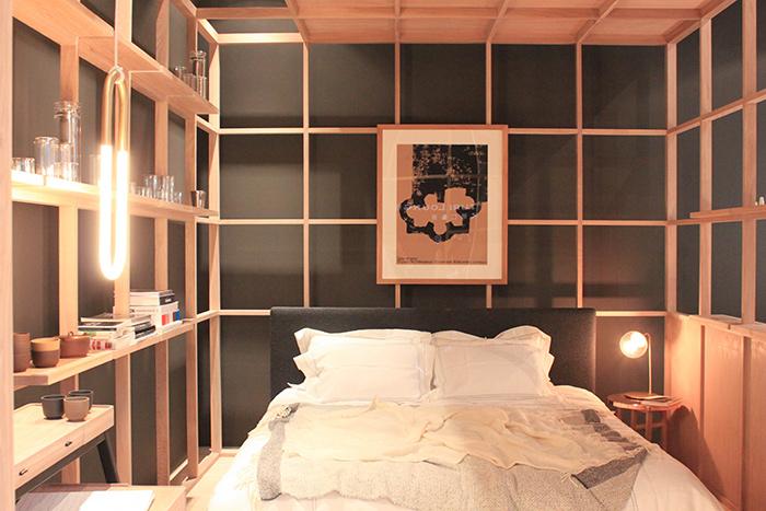 Chambre esprit japonais