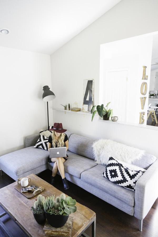 l 39 int rieur boh me et clectique de amber thrane frenchy fancy. Black Bedroom Furniture Sets. Home Design Ideas