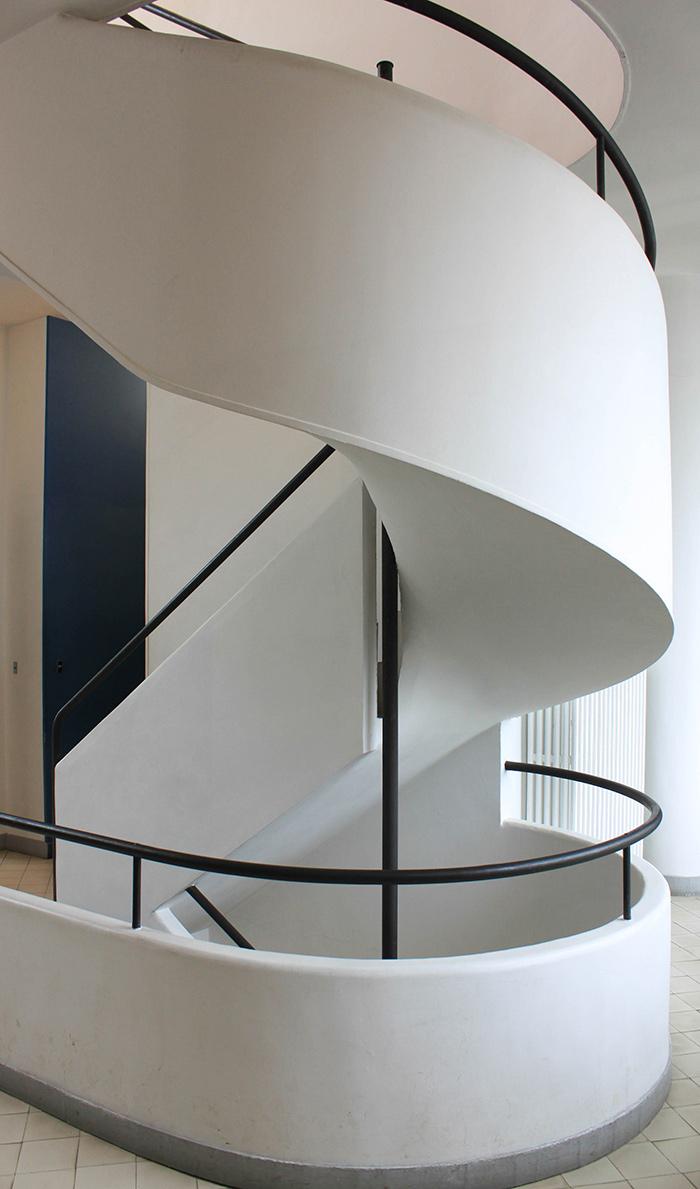 Escalier architecture contemporaine