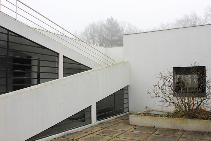 Maison contemporaine Le Corbusier