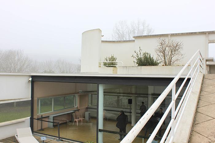 Maison contemporaine Le Corbusier
