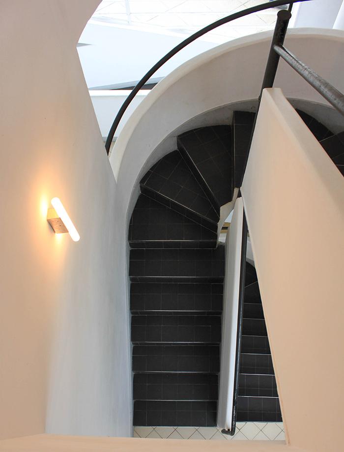 Escalier architecture moderne
