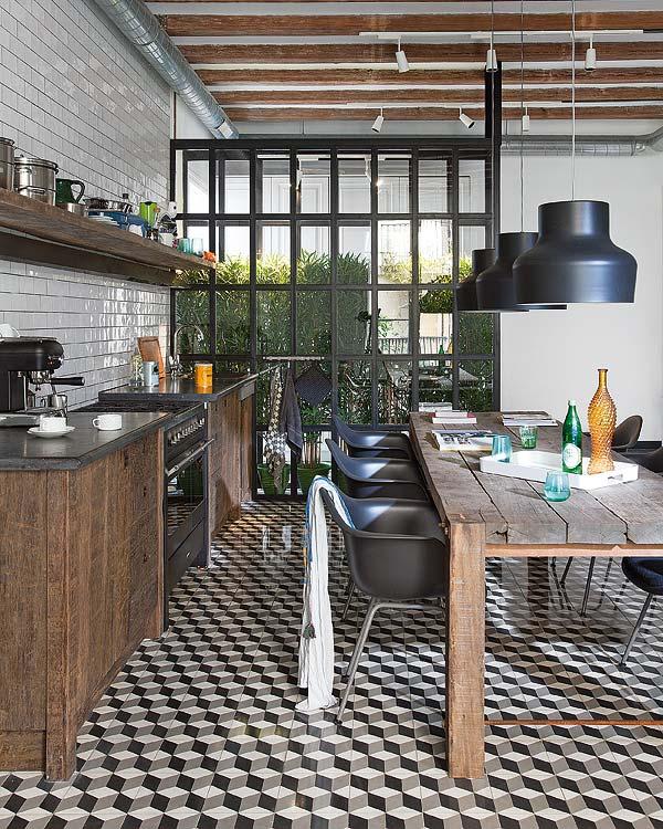 tendance les carreaux de ciment frenchy fancy. Black Bedroom Furniture Sets. Home Design Ideas