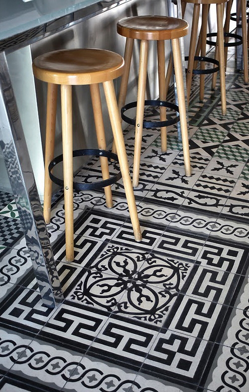Tendance : Les Carreaux De Ciment - Frenchy Fancy