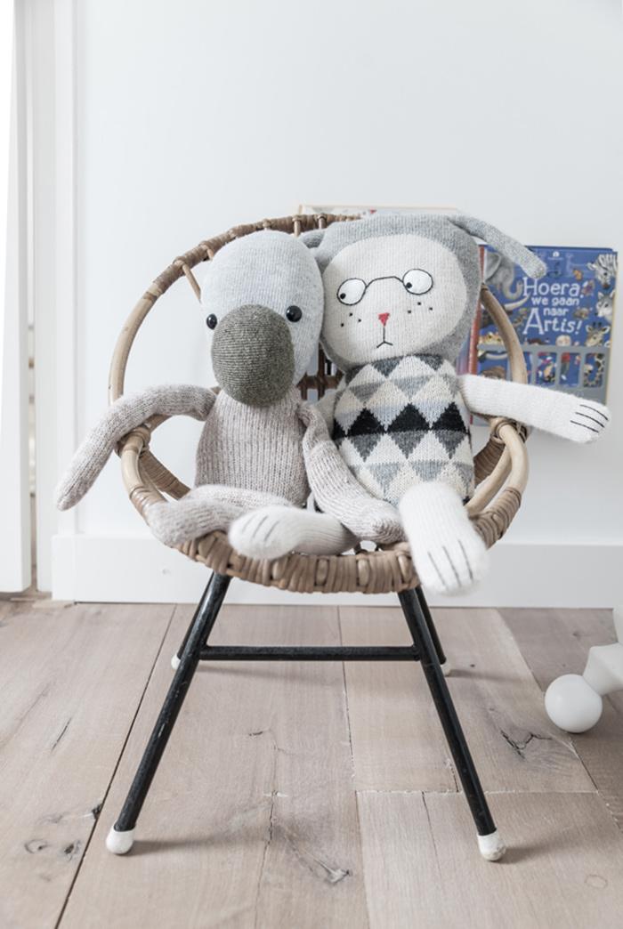 du gris et du blanc pour un petit enfant frenchy fancy. Black Bedroom Furniture Sets. Home Design Ideas