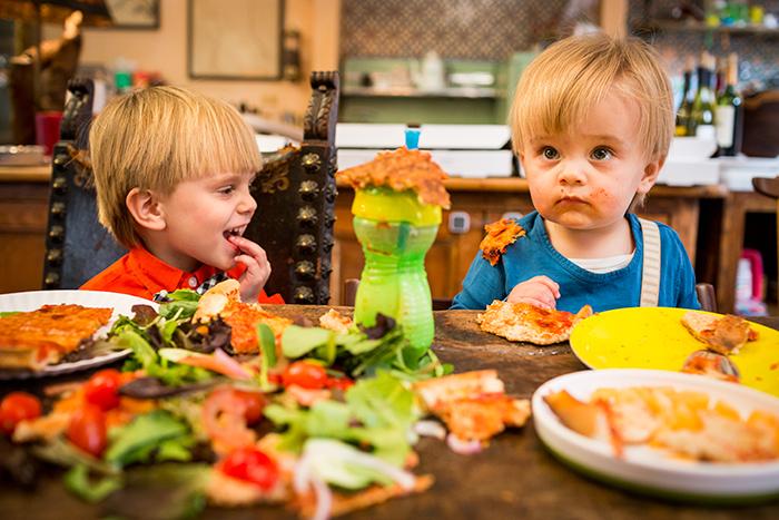 Vivre avec deux enfants en bas âge à la maison