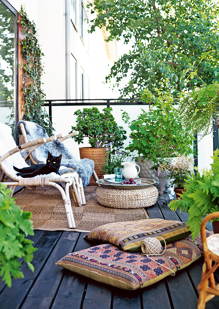Inspiration s 39 am nager une terrasse de r ve frenchy fancy for Decoration petit jardin terrasse