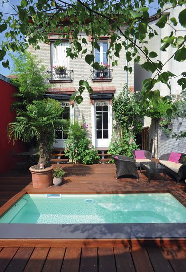Inspiration s 39 am nager une terrasse de r ve frenchy fancy - Mini pool terrasse ...