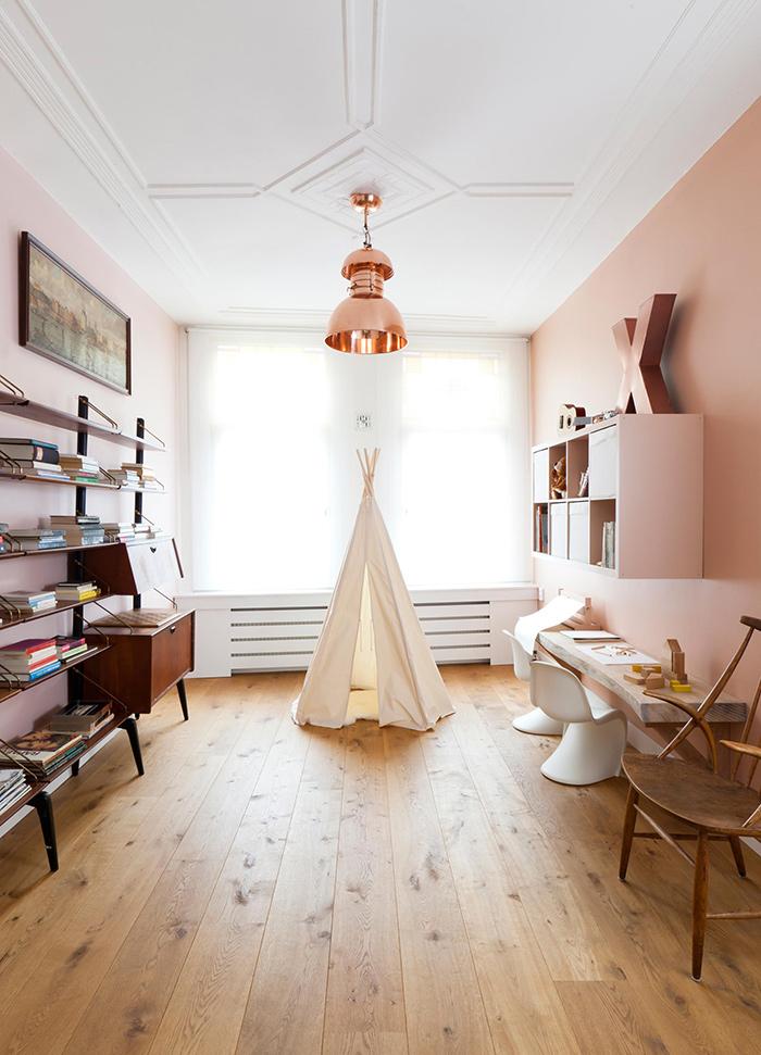 Aménager un tepee dans la chambre des enfants