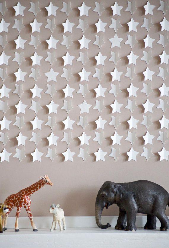 Décoration papier chambre d'efant