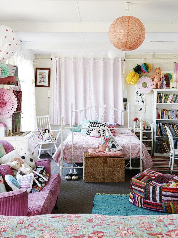 Inspiration décoration pour la chambre d'une petite fille