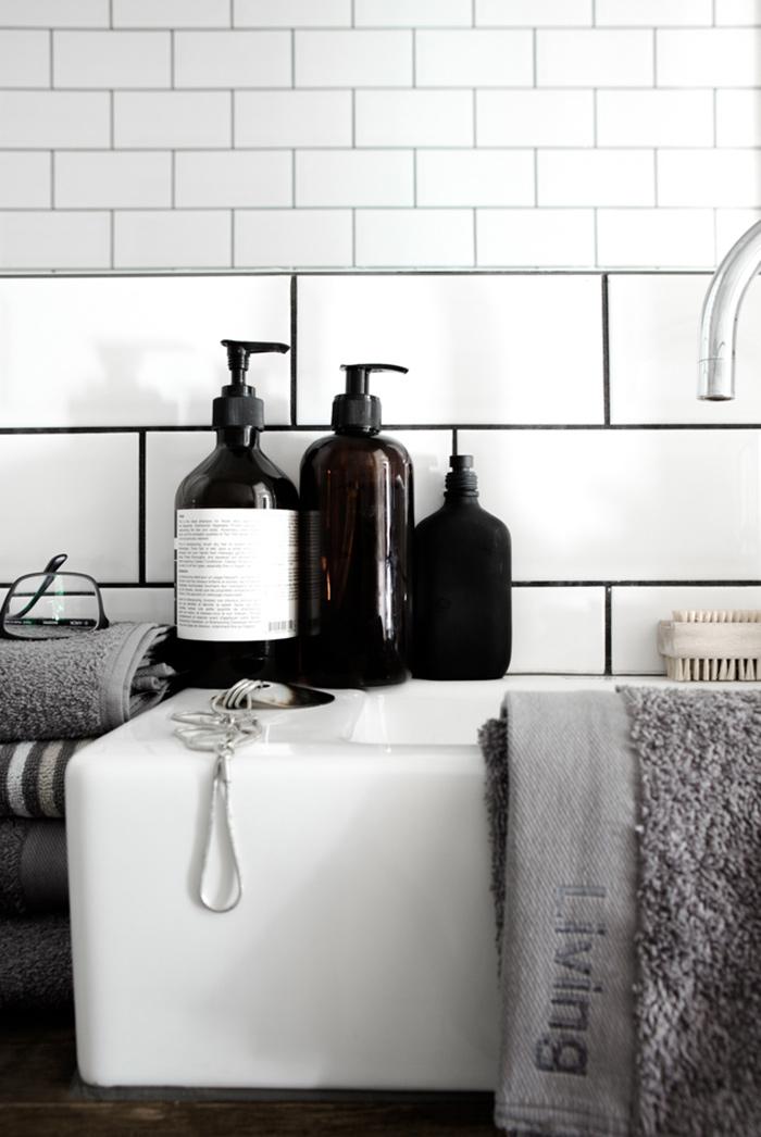 Stylisme salle de bain nordique