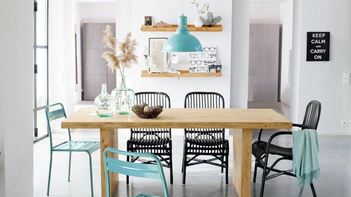 Dépareiller ses chaises dans une salle à manger