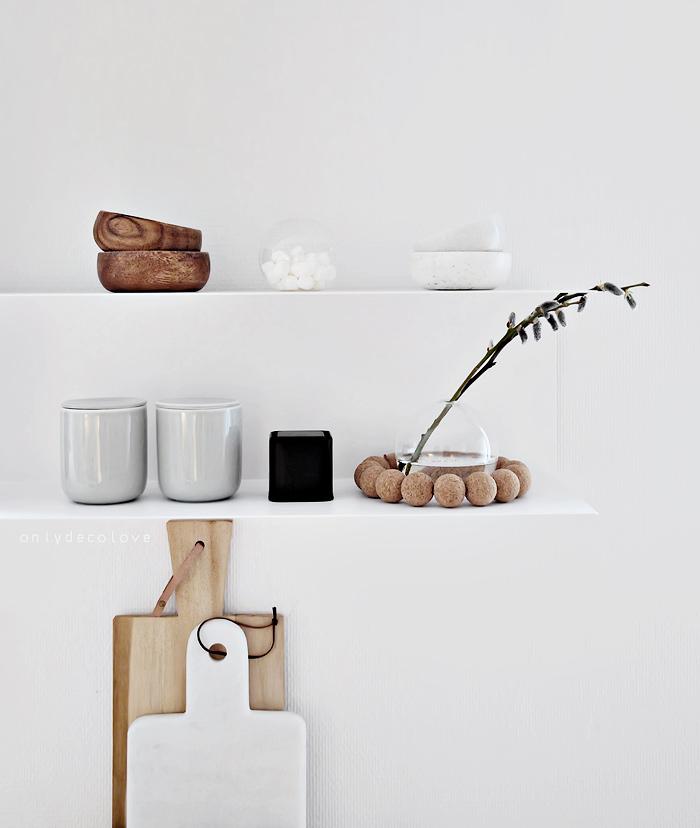 Stylisme dans une cuisine