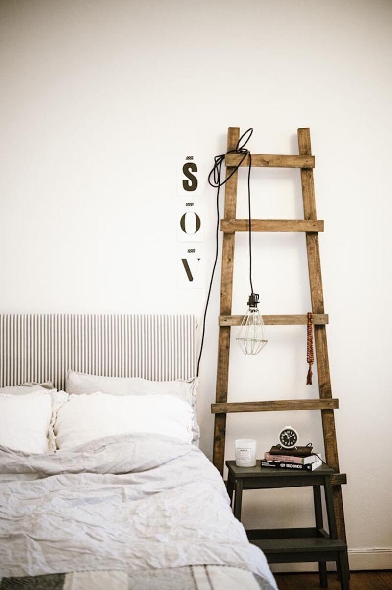 Utiliser une échelle en décoration