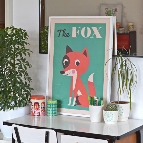 Affiche The Fox d'Ingela Arrhenius ♥