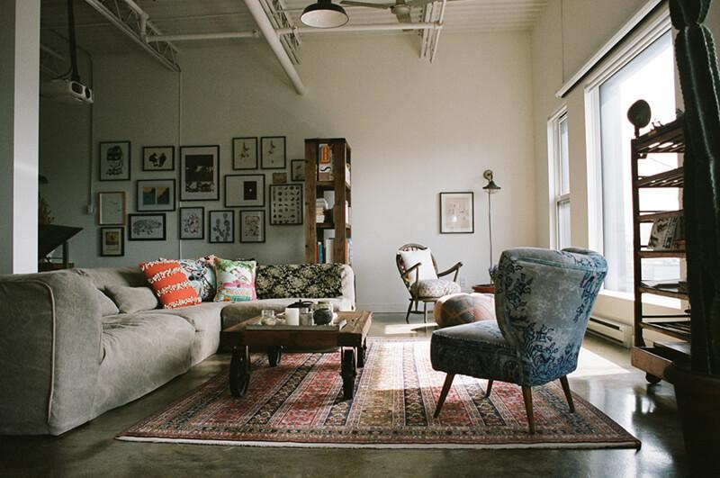 Décoration éclectique et vintage