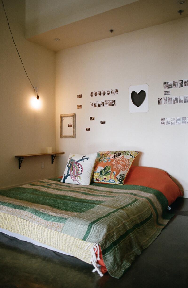 Décoration orientale dans une chambre