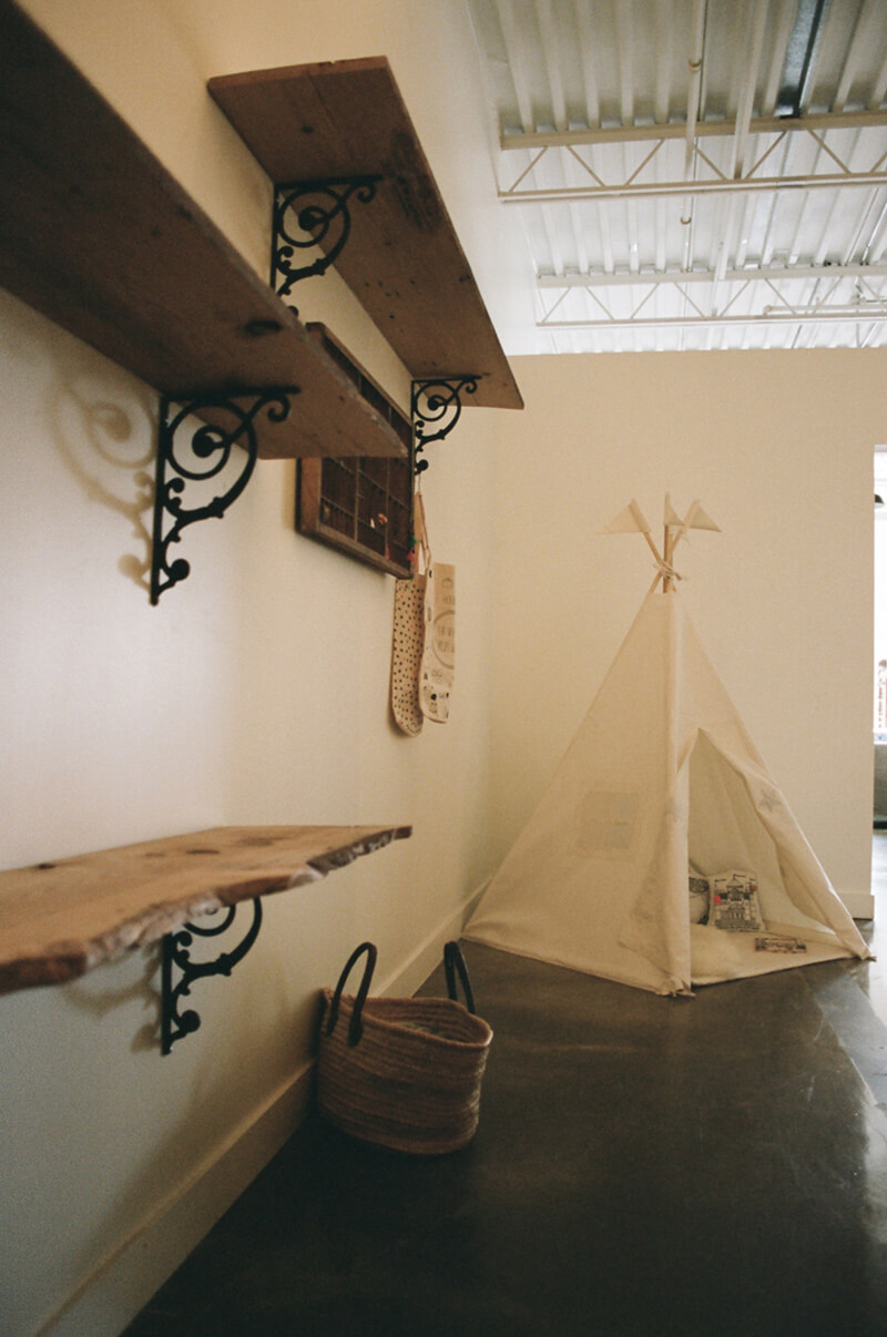 Cabane d'indien pour les kids