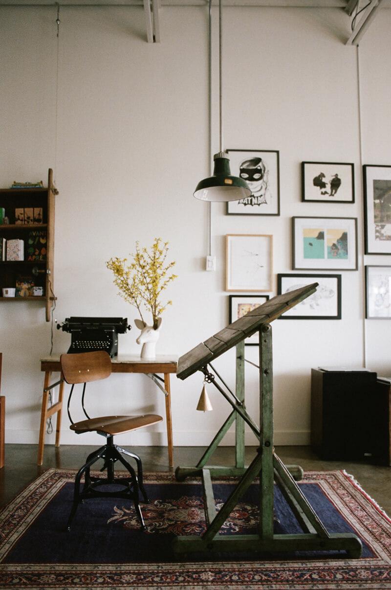Bureau style vintage