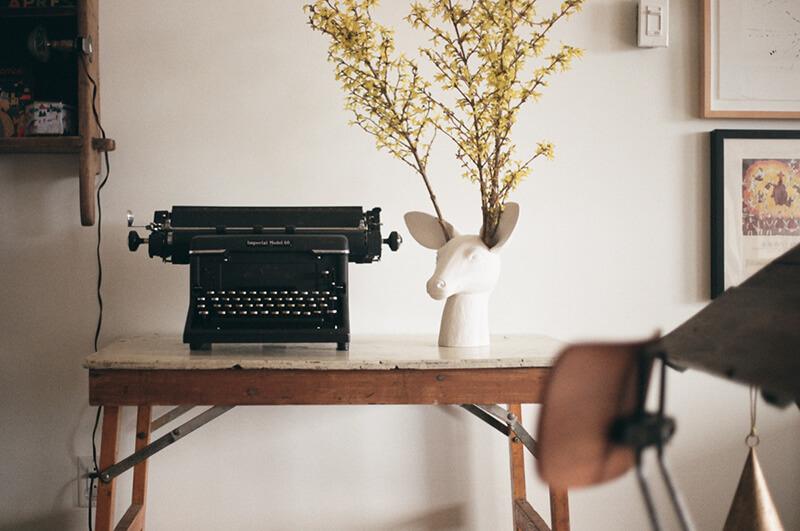 Machine à écrire ancienne