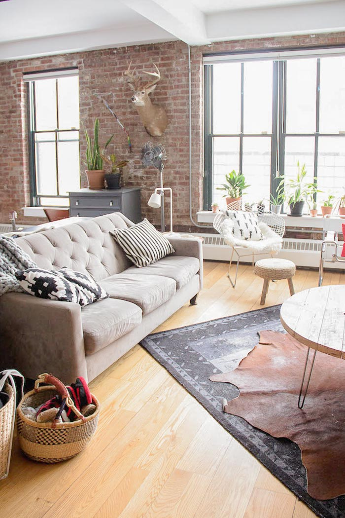 Un loft industriel & bohème à Brooklyn