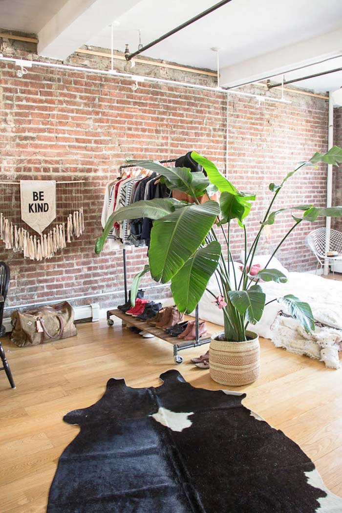 Un loft industriel boh me brooklyn frenchy fancy for Deco loft industriel