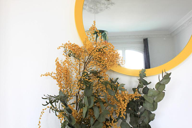 Bouquet eucalyptus mimosa