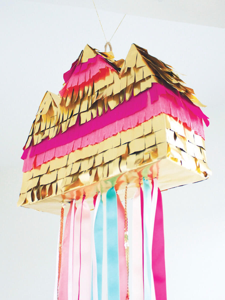 DIY piñata tutoriel facile