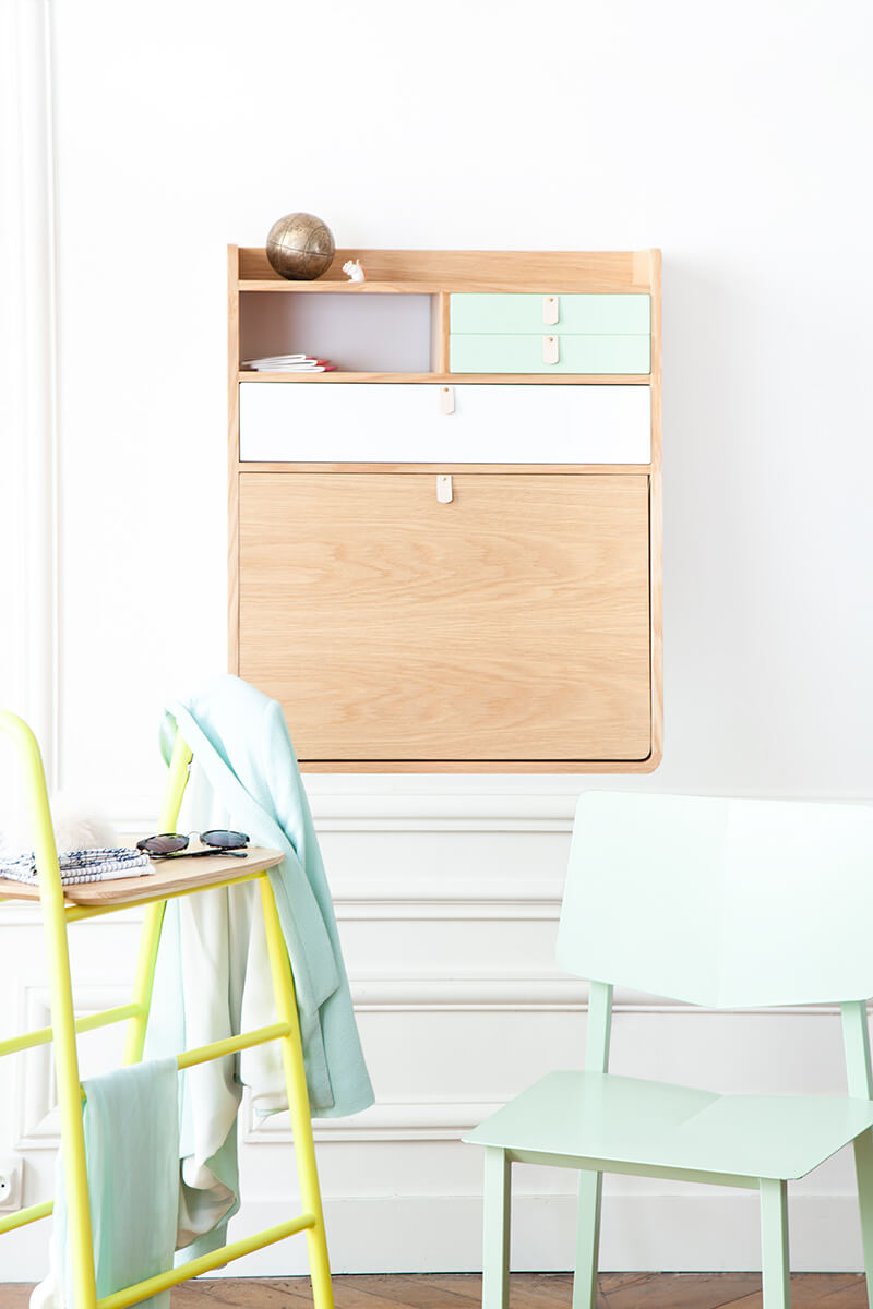 shopping déco : hartô - frenchy fancy - Meuble Secretaire Design 2