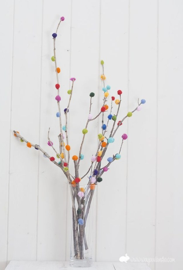 5 id es pour d corer avec des branches frenchy fancy for Arbre decoration