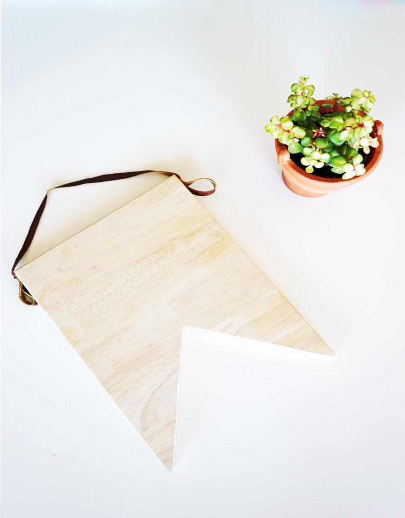 Planche à découper en bois design