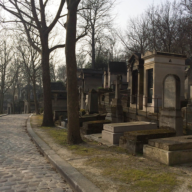 Visite du Cimetière du Père Lachaise à Paris