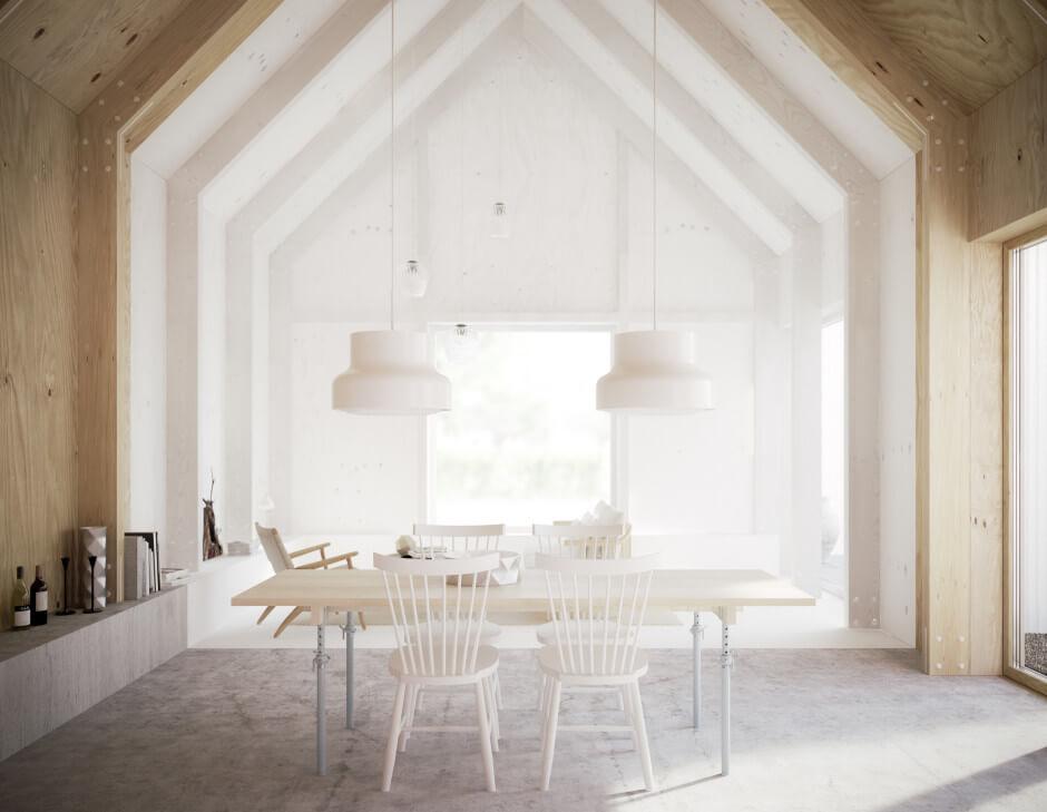 Salle à manger style scandinave et nordique