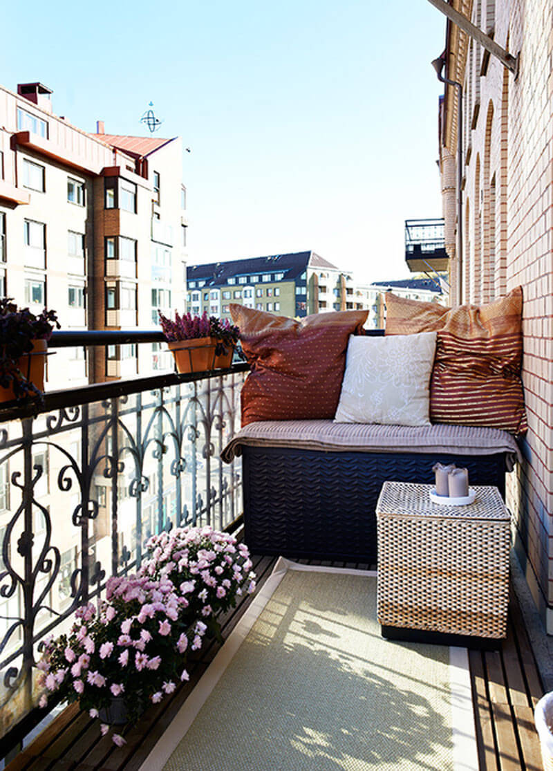 Shopping am nager son petit balcon d 39 appartement for Amenagement terrasse balcon appartement