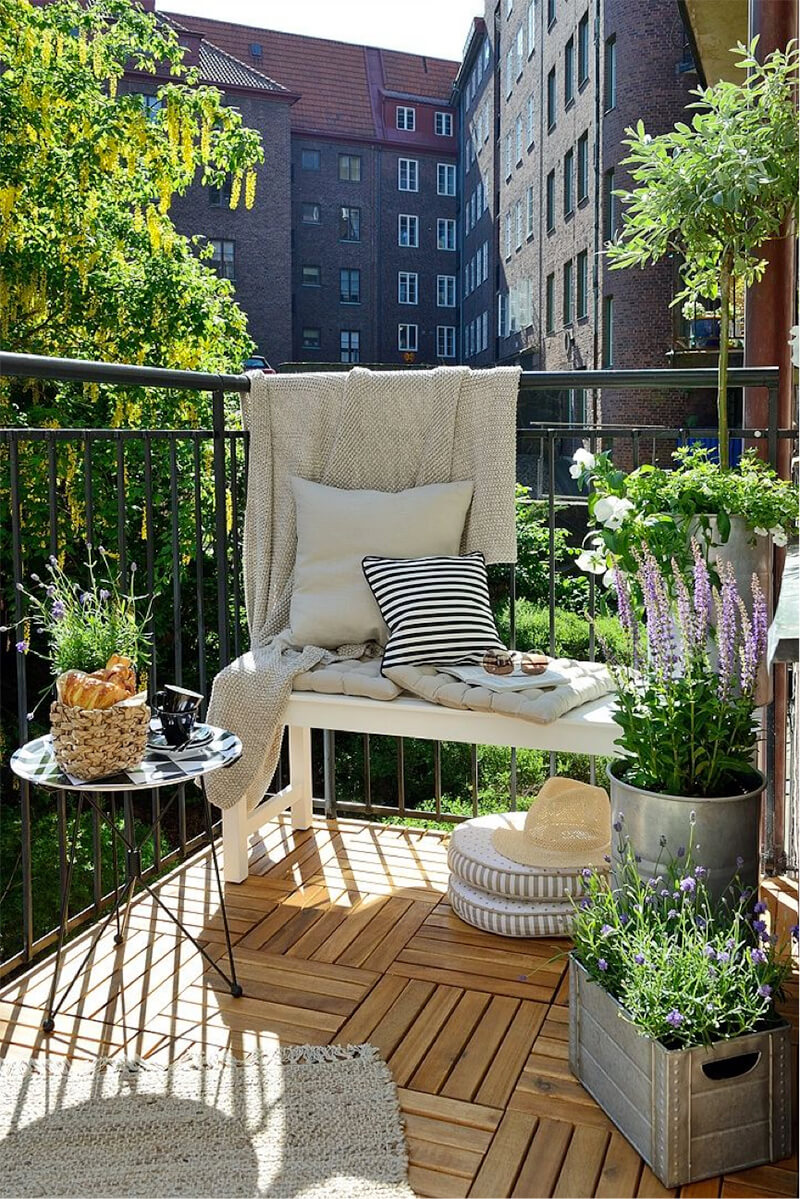 Des plantes aromatiques sur sa terrasse