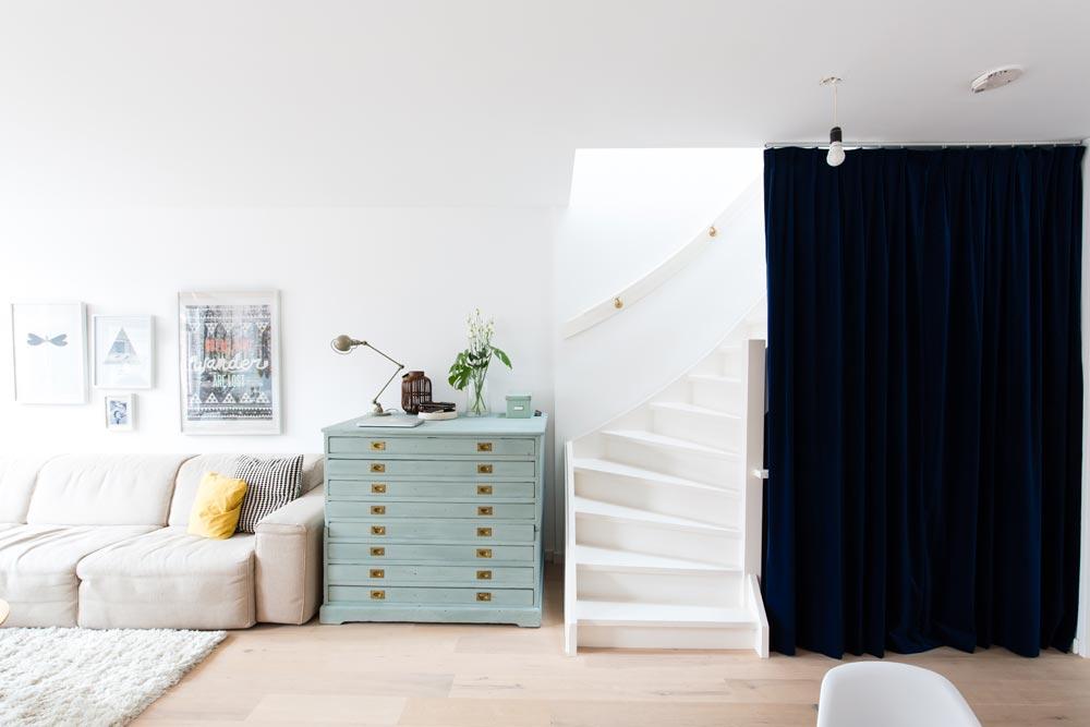 Décoration style scandinave et mobilier couleur pastel