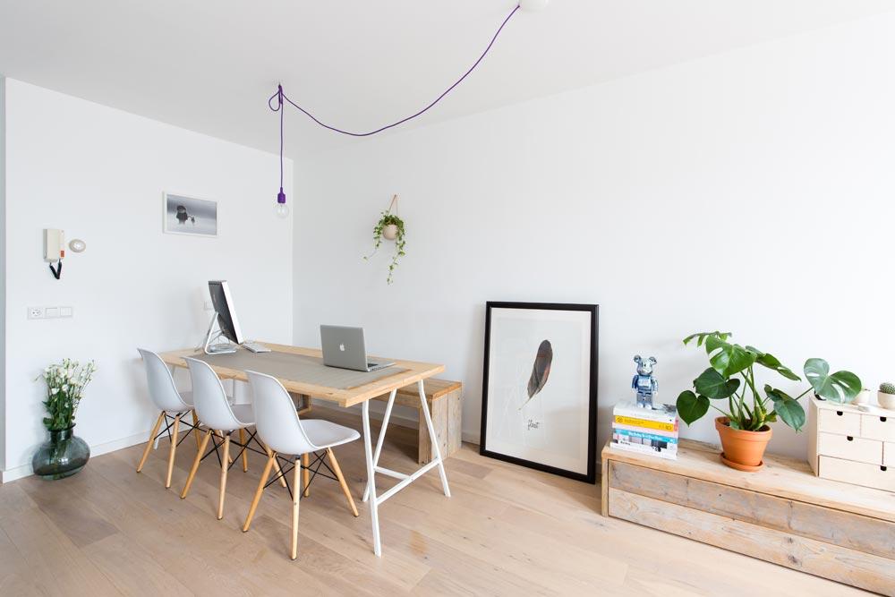 Chaise de salle à manger Eames