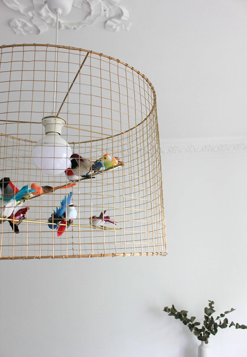 DIY suspension volière