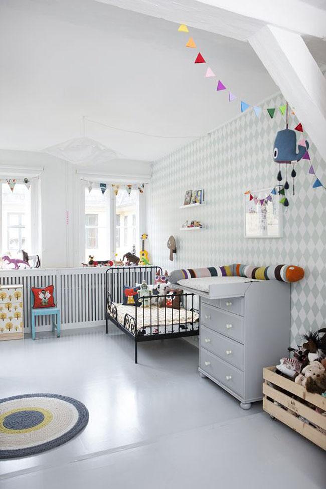 Inspiration la chambre de notre baby boy ♥ · the boo and the boy · objets de décoration ferm living pour les enfants