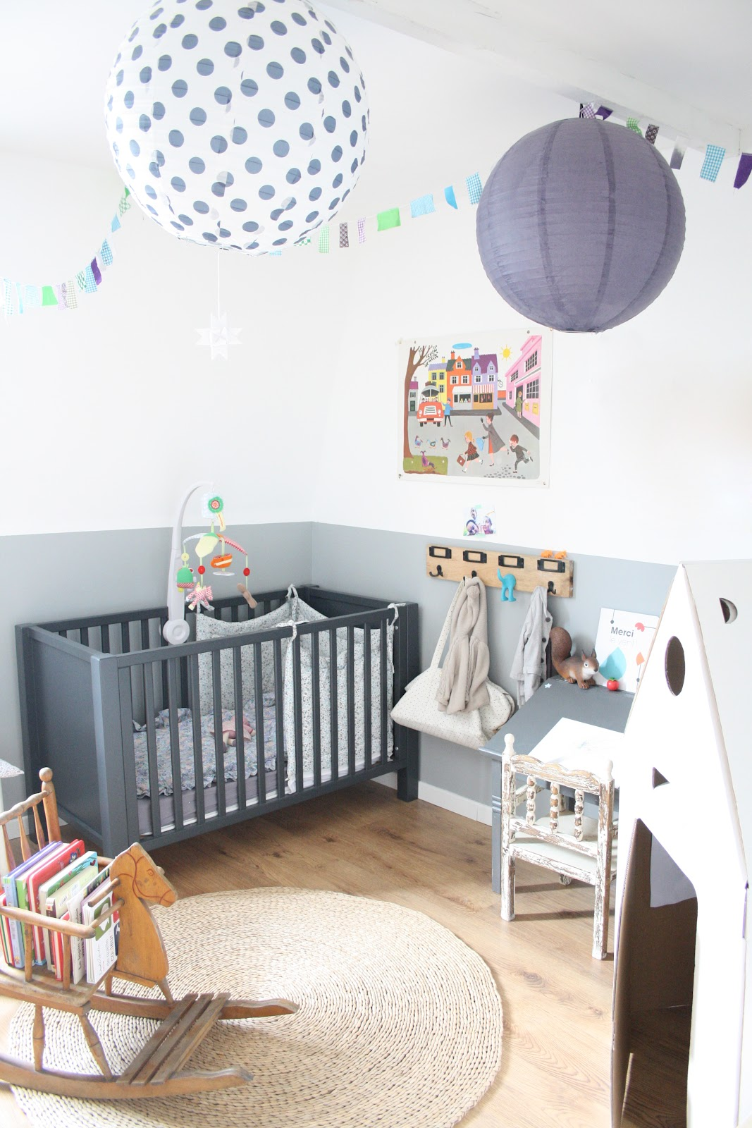Inspiration la chambre de notre baby boy frenchy fancy for Chambre de bebe design
