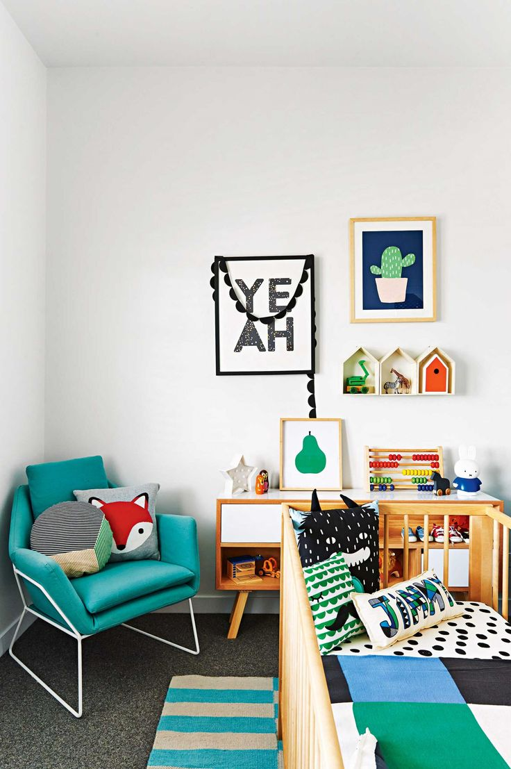 Inspiration : la chambre de notre Baby Boy