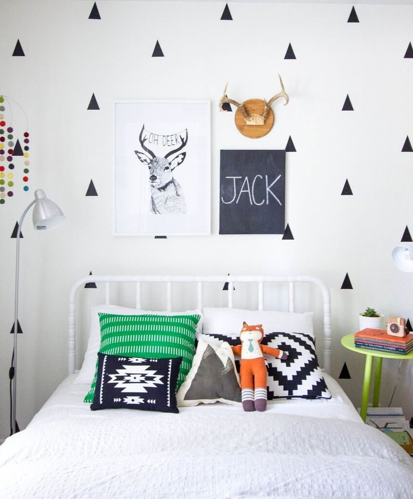 Diy Boy Bedroom Ideas Bedroom Wallpaper Designs Bedroom Sets Decorating Ideas Brown Black And White Bedroom: Inspiration : La Chambre De Notre Baby Boy ™�