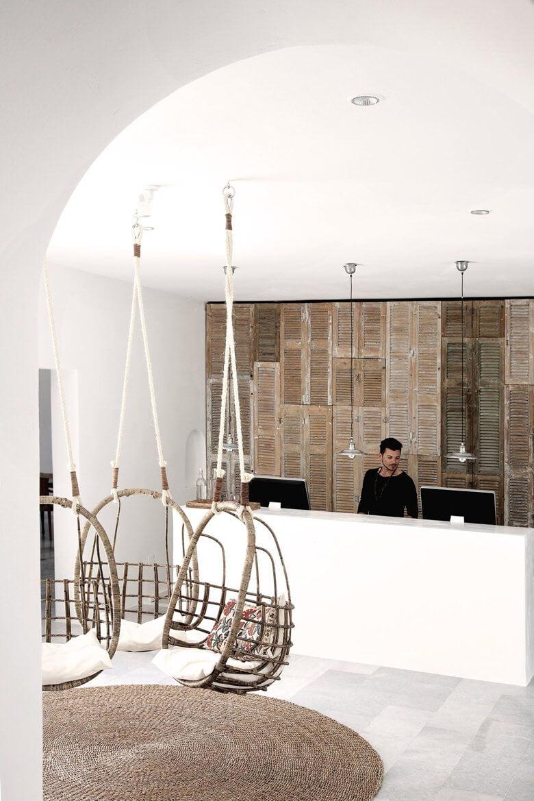 Je voudrai un fauteuil suspendu frenchy fancy for French interieur