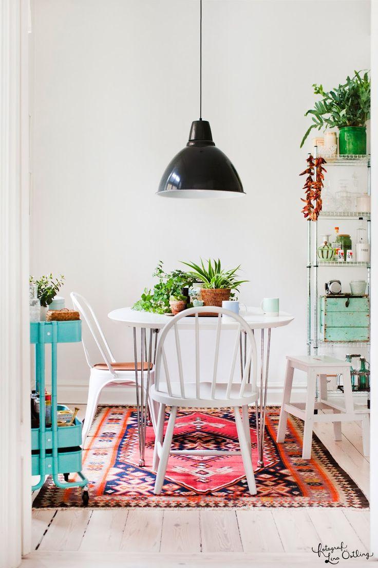 Idées pour cuisine avec chaises dépareillées
