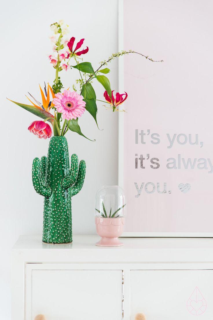 Tendance déco : le vase cactus