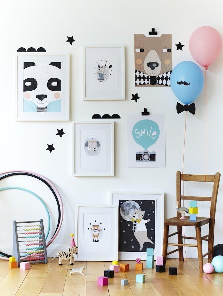 Idée de décoration pour une chambre d'enfant